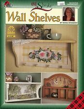 One Stroke Wall Shelves Decorative Painting Book by Donna Dewberry