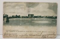 Atlantic City NJ Panorama of Boardwalk from End of Steel Pier 1905 Postcard C12