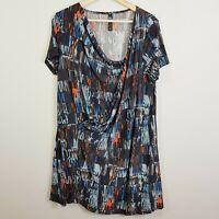 [ TS TAKING SHAPE ] Womens Print Tunic Top    Size XS or AU 14 / US 10