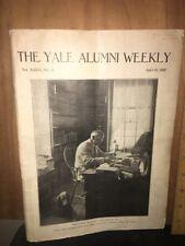 YALE ALUMNI WEEKLY Magazine April 29, 1927. Professor Phelps
