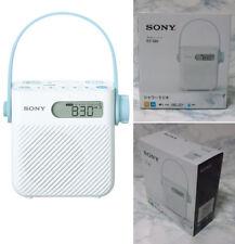 Shower Radio FM/AM/Wide ICF-S80 Clock Waterproof Sony