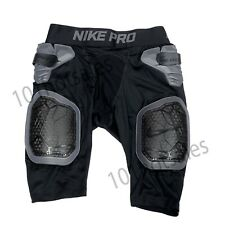 New listing Nike Mens' Pro Hyperstrong Football Black Girdle Shorts AO6229-010 Size S, L
