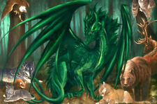 Lord of the Forest Dragon Poster by Ruth Thompson 12x18 inch Poster 12x18