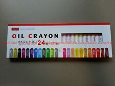 DAISO JAPAN 24 colors Oil Crayon drawing painting