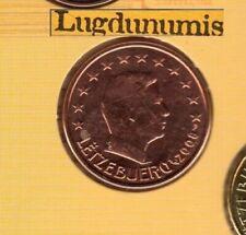 Pièces de 5 euros du Luxembourg