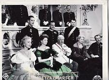 Radetzkymarsch (Kinofoto '58) - Paul Hörbiger / Winnie Markus / Johanna Matz