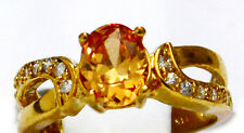 18K Gold Filled Flawless Cubic Zircon Women's Ring size 8 - FREE Shipping