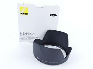 NIKON GENUINE HB-NIO2 BAYONET LENS HOOD FOR NIKKOR 10-100MM F4.5-5.6 BOXED FF