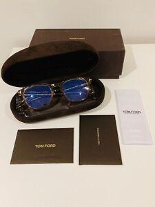 Tom Ford FT5625-B 045 Glasses 48mm 19 145 Transparent Beige Brown BRAND NEW