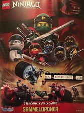 Lego Ninjago Serie 3 Trading Card Game Sammelordner Sammelmappe Mappe Ordner NEU