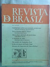 Revista do Brazil - Ano 1 n1 / 1984 Simon Bolivar, Machado de Assis, Jose Neves
