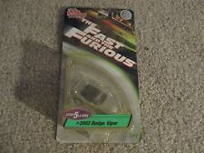 Die-Cast The Fast And The Furious 2003 Dodge Viper Racing Champions 1:64 MOC