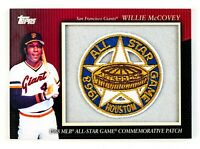 Willie McCovey #MCP71 (2010 Topps) 1968 All-Star Game Patch San Francisco Giants