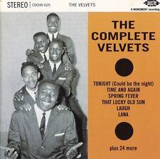 Velvets OOP UK CD Complete Velvets NM '96 Ace Doo Wop R&B 30 TRKS