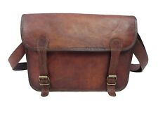 Real Leather Laptop Messenger Bag 13 Inch MacBook Satchel CrossBody Shoulder Bag