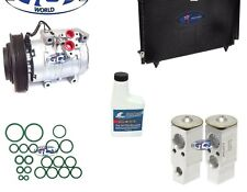 A/C Compressor and Condenser Kit Fits Toyota Corolla Matrix 2003-2004 1.8L 77391