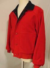 Pendleton Woolen Mills Lobo Men's Jacket Size M Full Zipper Pockets Coat Red