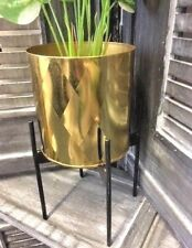 Geometric Flower Plant Succulent Pot & Metal Rack Garden Display Stand Holder