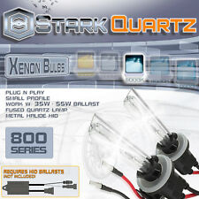 35W 55W Xenon HID Bulbs Fog Light 6000K Ice White - 880 881 899 Replacement Pair