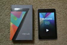 GOOGLE NEXUS 7 TABLET (1st Generation) 32GB, Wi-Fi, Tegra 3 w/ ORIGINAL BOX