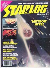 STARLOG # 29 SCI-FI MAGAZINE 1979 SPACE 1999 METEOR MERCHANDISE GUIDE JACK KATZ