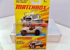 Matchbox Lesney Edition Jeep Willys - Gray - AWESOME
