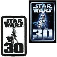 Star Wars Original Movie 30th Anniversary Licensed Embroidered Patch Sticker Set