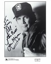 LEE MAJORS Autographed Signed THE FALL GUY COLT SEAVERS Photograph - To Lori