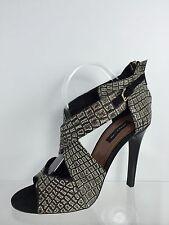 Derek Lam Womens Black/Multi Color Heels 9.5 B