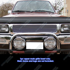 Fits 1992-1995 Toyota Truck  4WD Main Upper Billet Grille Grill Insert