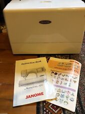 Janome Memory Craft 9700 Embroidery Sewing Machine EUC