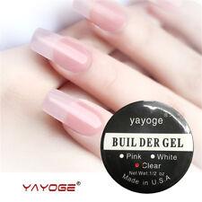 14g Clear Strong UV builder gel Nail Art Tips Extension Nail Salon SPA Nail Care