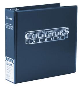 Ultra Pro Collectors Album - 3 Ring Binder Trading Cards Pokemon NBA TCG (Blue)