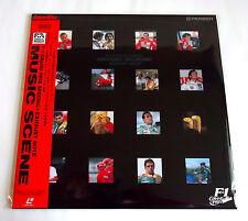 F1 GRAND PRIX SPECIAL MUSIC SCENE EXHAUST JAPAN LD Laser Disc Ayrton Senna Ex