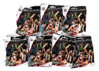 WWE Wrestling Legends Wall Walkers Lot of 7  Blind Bag Random Packs NEW SEALED