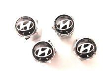 Wheel Tyre Valve Caps for: HYUNDAI ELANTRA SONATA TIBURON V6 EXCEL VELOSTER GETZ