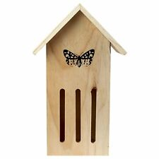 Wooden Butterfly & Insect Hotel Wall-mountable Garden Bug House