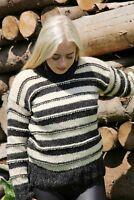 Strickpullover - NORWEGER MODELL 12 Schafwolle Unisex Pulli 100% Wolle