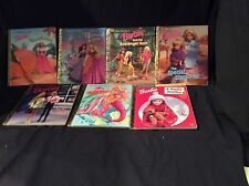 Lot of 7 Barbie Little Golden Books