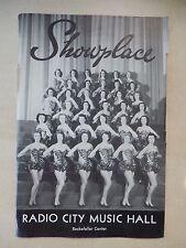 November 14th, 1958 - Radio City Music Hall Theatre Playbill - Home Before Dark