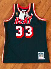 Alonzo Mourning 1996-97 Miami Heat NBA Basketball Mitchell Ness AUTHENTIC Jersey
