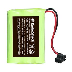 RadioShack (Catalog 2302341) 3.6V/800mAh Ni-MH Cordless Phone Battery
