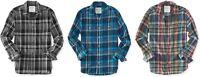AERO Aeropostale Mens Long Sleeve Plaid Button Down Woven Shirt S,M,L,XL,2XL,3XL