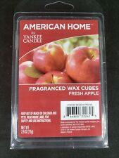 1 Pack American Home by Yankee Candle Fragranced Wax Cubes Fresh Apple