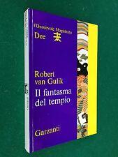 Robert VAN GULIK - IL FANTASMA DEL TEMPIO , 1° Ed Garzanti R72 (1972) Libro