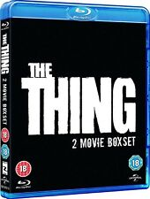 THE THING 2 Movie Collection (1982 + 2011) Region B [Blu-ray] Kurt Russell