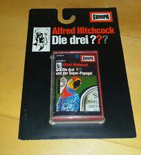 Die drei Fragezeichen ??? Der Super-Papagei Kassette MC Europa gelb Neu Blister