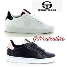 Scarpe donna Sergio Tacchini-Scarpe da ginnastica donna-Sneakers basse con raso