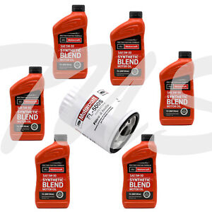 Oil change kit Ford F150 3.5L V6 Oil filter FL500S + 6 quarts engine oil SAE5w20