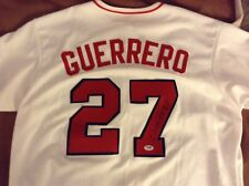 Signed Vladimir Guerrero Angels Baseball Jersey MLB Hall of Fame PSA DNA Expos